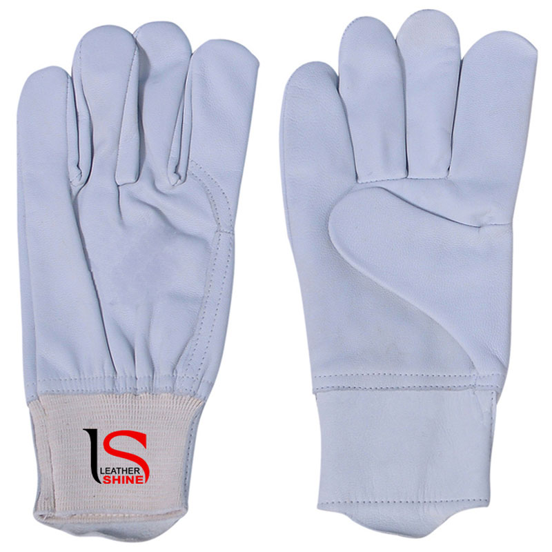 Driver Gloves in Grain Leather